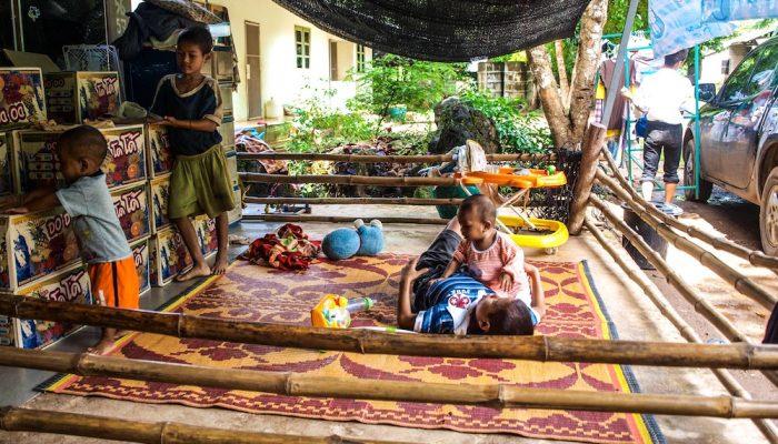 guarderia en orfanato Safe Haven