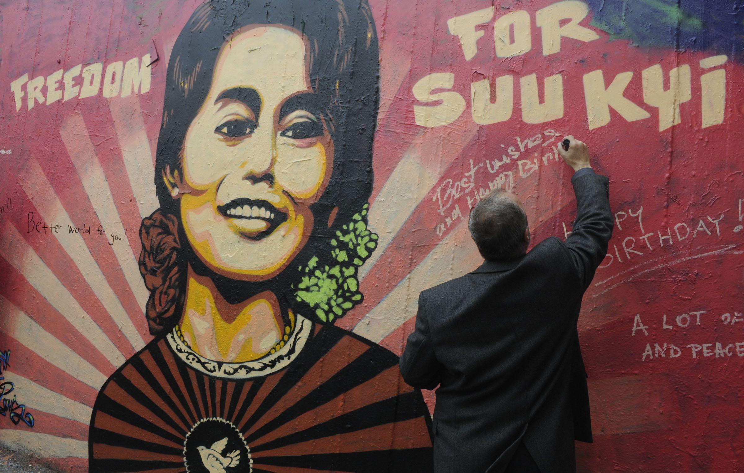 aung sang Suu-Kyi