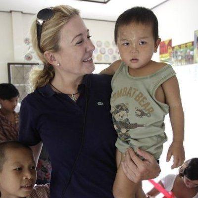 mili embajadora colabora birmania